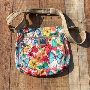 Tyler Rodan Floral Crossbody Travel Shoulder Bag